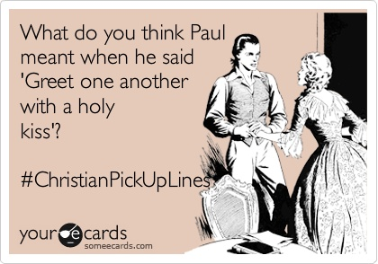 Pickup lines to try on Christian guys