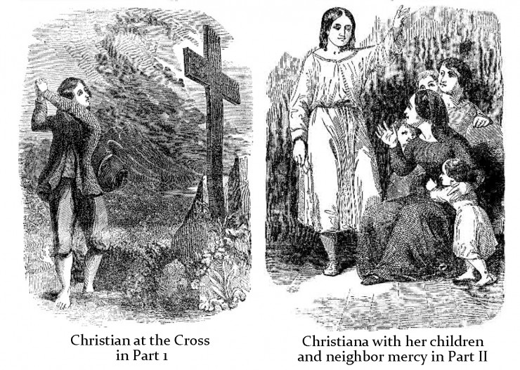 the pilgrims progress character analysis English 233: introduction to western humanities -- baroque & enlightenment study guide to john bunyan's the pilgrim's progress reading four.