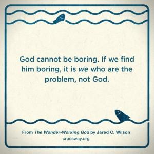Jared Wilson Wonder Working God Quote