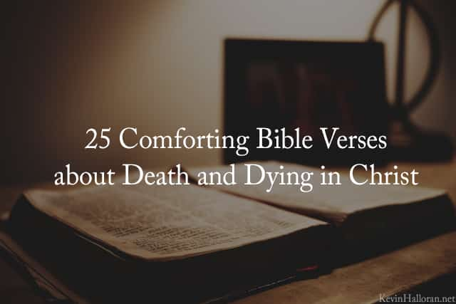 John Taylor While We Are Mourning The Loss Of Our: 25 Comforting Bible Verses About Death, Dying In Christ
