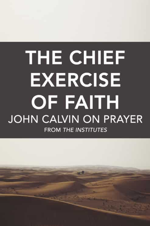 Calvin Prayer Cover