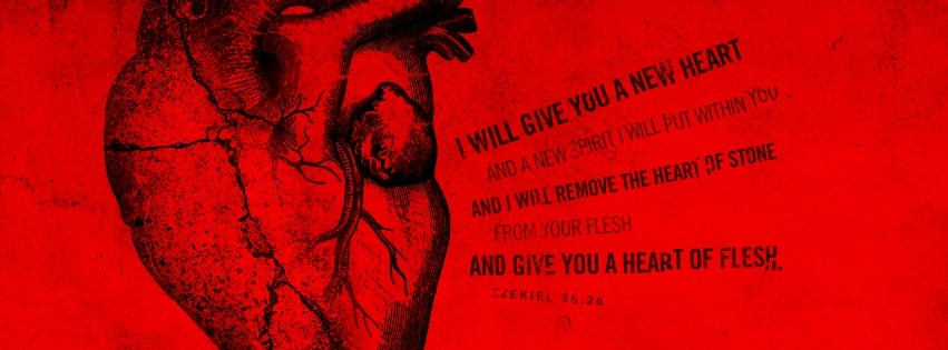 Free christian facebook cover photos with bible verses and quotes ezekiel 36 26 new heart new spirit christian facebook cover photos with bible verses freerunsca Image collections